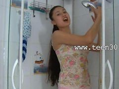 sexy girl giving sex to men in shower
