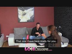 creampie backroom casting couch