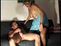 french maid fists a mature slut
