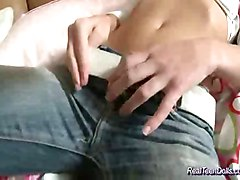british teen stripping solo