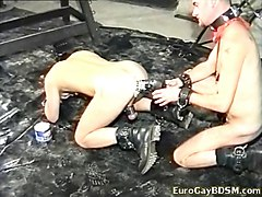 hairy gay slave