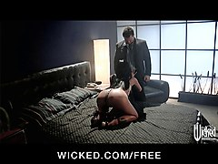 sexy big tit cheating wife slut is fucked