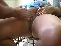 brunette rubs her pussy until she cums