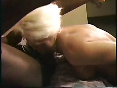 hot mature blond with BBC