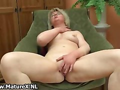 Horny mature housewife loves to play part4