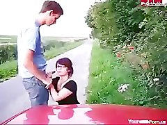 Nerdy German Public Doggystyle Quickie www.hdgermanporn.com