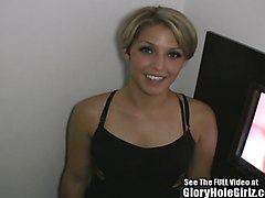 Blondine Gloryhole