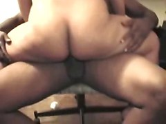 hot mom gets banged in the ass in front of her