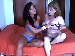 Mom Dildoing With NOT Her Daughter BVR