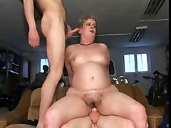 homemade bisex cuckold husband and bbw granny