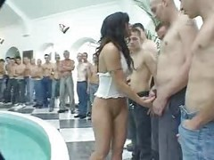creampie gangbang no clynup