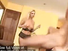 Blonde MILF is hungry for a big cock to fuck