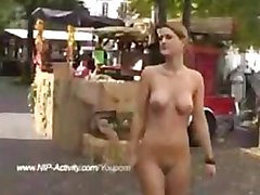 Crazy Flasher Has Fun In Streets