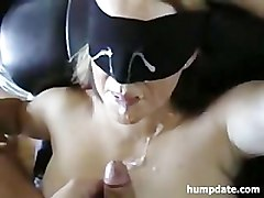 homemade wife bends over for two cocks