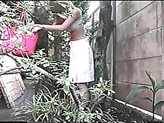 japanese girl outdoor pee