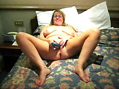 mature solo big dildo