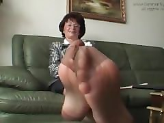 nylon feet french