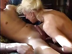 amateur mature threesome anal