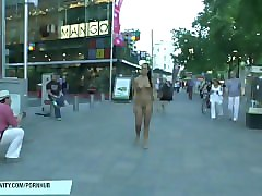 crazy nicole vice has fun on public streets