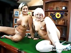 group sex on pool table