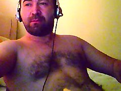 masturbating turkey-turkish beefy bear masturbator