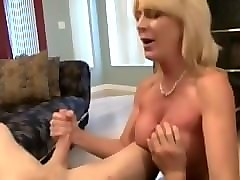 middle aged mom handjob