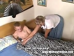 son caught masturbating by mother