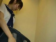 japan school girl handjob