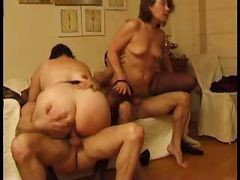 casting french mature anal gangbang