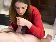 mature wife handjob blowjob