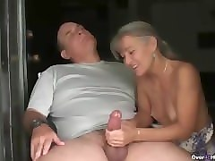 mature couple with girl