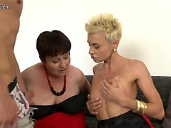 horny milfs ride and ravage young boy