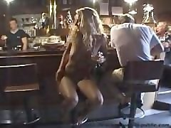 nude mature women beer serve at public bar