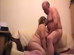 mature couple seducting