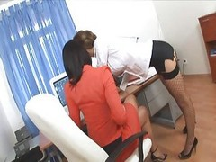 hairy asian groped secretary office porn