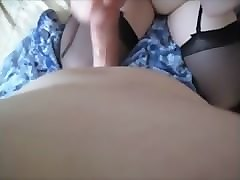 blonde teen has solo fun