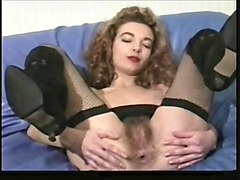 vintage french hairy anal dildo