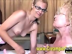 bisexual anal creampie orgy