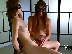 latin masked milf and boy kitchen
