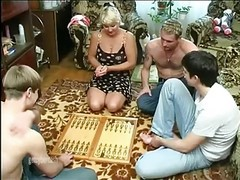 drunk gangbang wife real