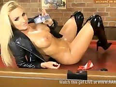 lesbians in boots strapon sex
