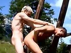 young twinks outdoor oral and anal