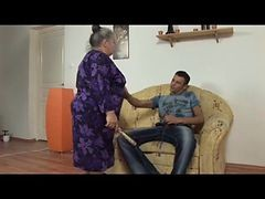 ebony bbw granny abuse