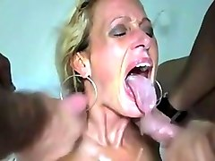real homemade mature amateur threesome