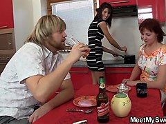 pregnant couple teen