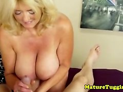 french mature handjob