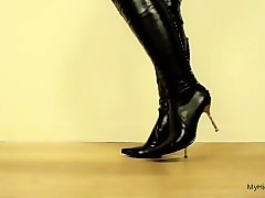 high heel solo girl