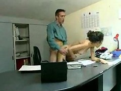 fuccked in the office