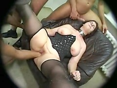 gangbang wife cuckold cleanup