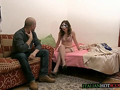 beautiful italian girl first-time hard